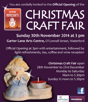 Official Opening for Christmas Craft Fair 2015