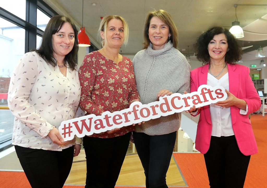 Waterford Crafts members Copper Coast Skincare, Gwen Dunne Designs, Trish's Honey Products and Victoria's Incredible Edibles