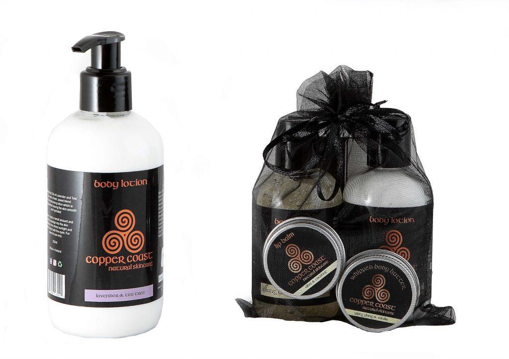 Copper coast skincare products