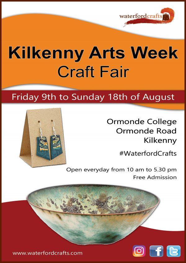 Kilkenny Arts Week Waterford Crafts Fair poster
